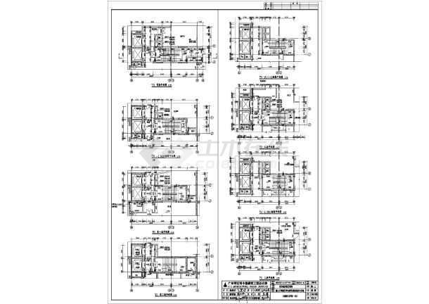 人防建筑设计施工图