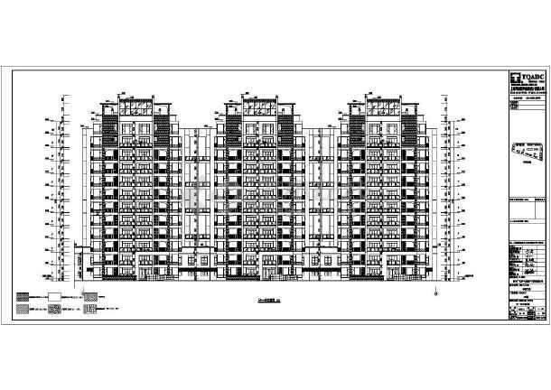 某地11层剪力墙结构商住楼建筑设计施工图