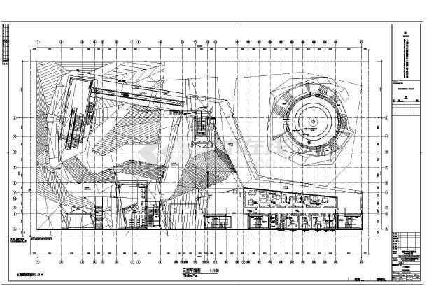 德国4层钢结构世博上海馆4张建筑平面图和ca6140拨叉831004的夹具图纸图片