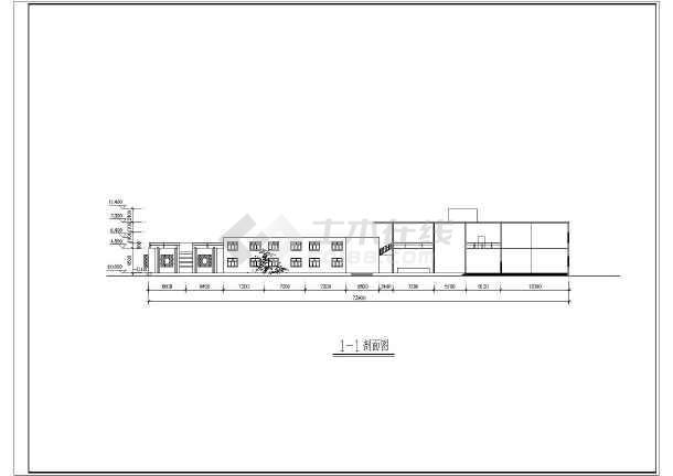 某旅游景点二层展览馆建筑设计方案