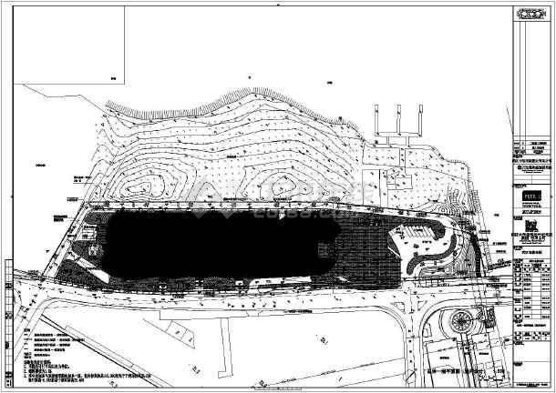 武汉万达广场总平规划分析图