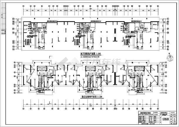 期全套电气设计施工图图片