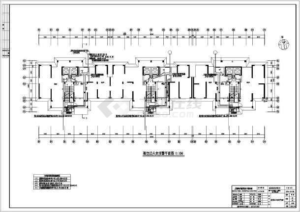 江西省南昌县某地某小区1期全套电气设计施工图图片