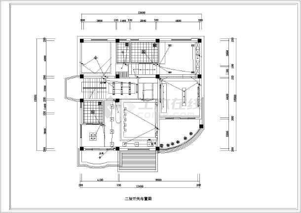 【浙江】某山庄双层别墅室内装修设计图