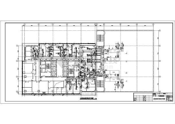 【河南】某医院实验室空调通风设计图图片