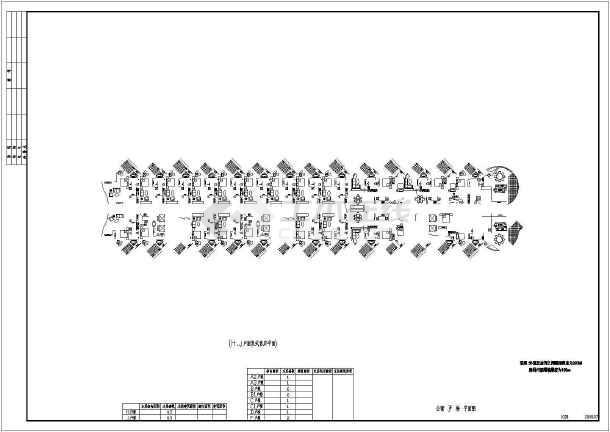 某地五星级海景酒店建筑平面图(天正版)-图3