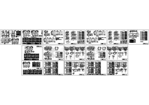 02S701砖砌化粪池标准图集 cad版本