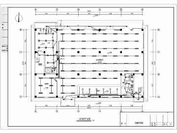 某地区5层汽车4s店电气设计施工图