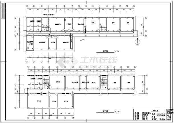 某4层小学校教学楼电气设计施工图