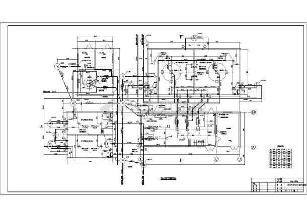 某工厂循环水系统综合泵房设计图纸图片