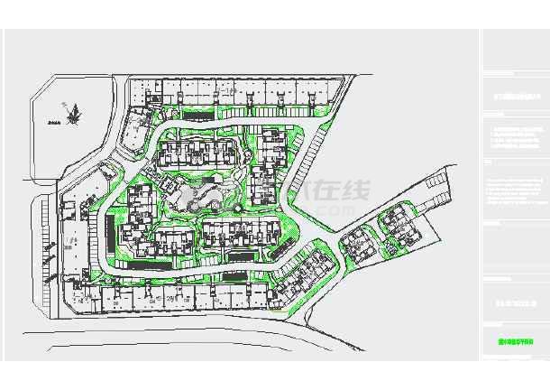 居住区及公园绿化设计图