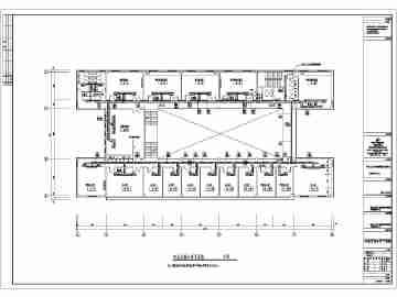 河北工业大学新校区学院楼某实验室中央空调设计图图片