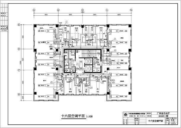 广东省公安厅二十一层v图纸办公楼图纸竣工图纸楼宇对讲空调防盗门图片