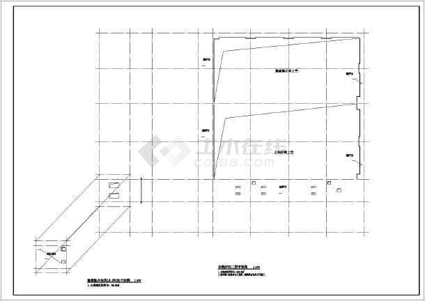 某地二层框架结构锅炉房建筑设计施工图