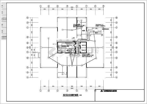 某小区内一栋18层住宅电气设计施工图