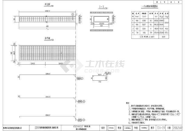 本桥上部结构采用5x20m预应力混凝土简支空心板