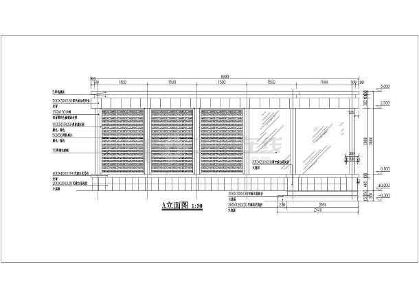 顶棚施工图图片3