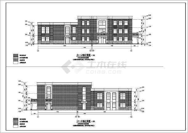 某地三层12班幼儿园建筑设计施工图