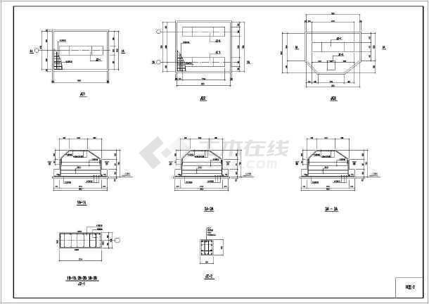某体育中心钢结构看台设计施工图