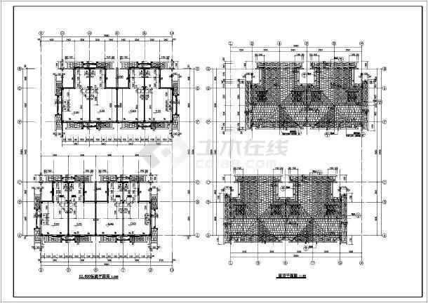 结构建筑设计施工图