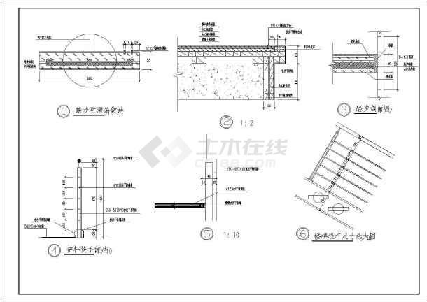 某地2层刚框架结构奔驰4s店建筑施工图