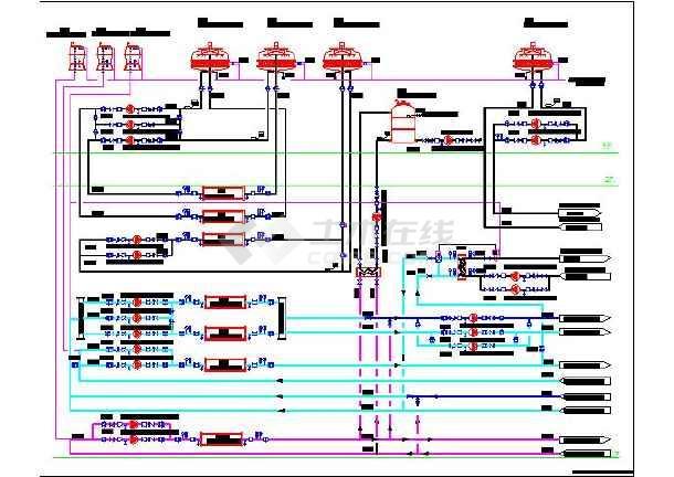 某城市无尘厂房空调专业设计流程图图片2