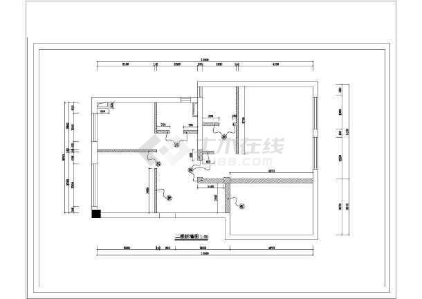 某地区某三层楼别墅装饰建筑设计施工图_cad图纸下载