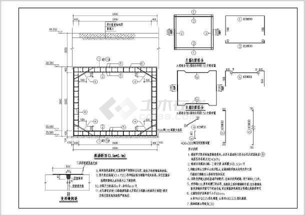 公路工程混凝土箱涵结构设计施工图