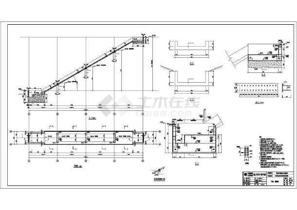 楼梯电梯构造图 某项目大跨度自动扶梯部分结构施工