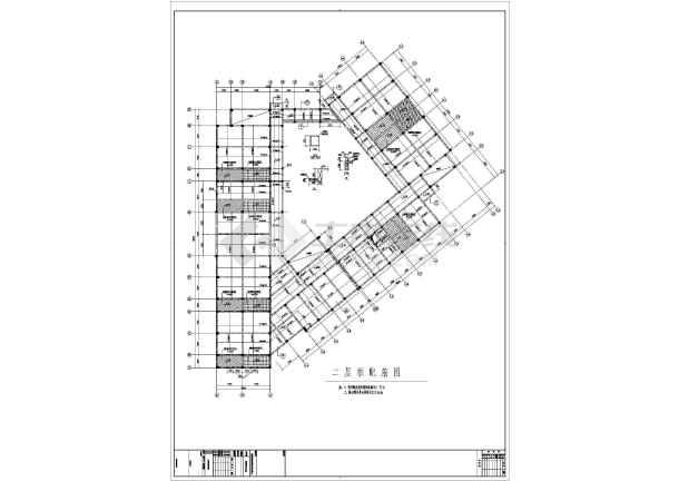 杭州某三层幼儿园建筑与结构设计施工图