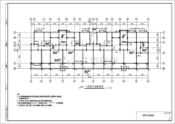 安徽省某六层砌体结构住宅结构施工图