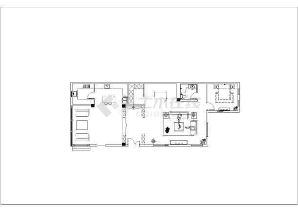 新建结构平面图,平面布置图,墙面装饰图,地面铺贴图,天花布置图,天花