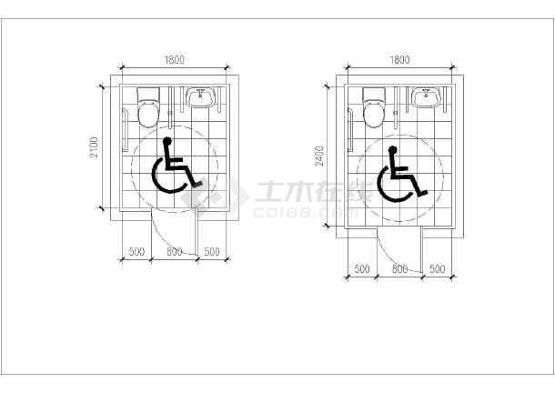 标准间装修平面设计图
