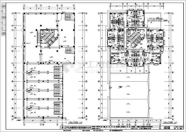 某二十五层电气住宅楼宽度v电气施工图_cad图cad多段线公式图片