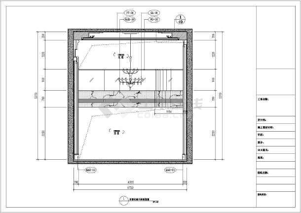 复式装修施工图 复式欧式装修设计 欧式装修施工图 复式楼欧式风格