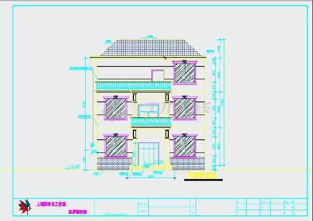 96米农村自建房建筑结构图