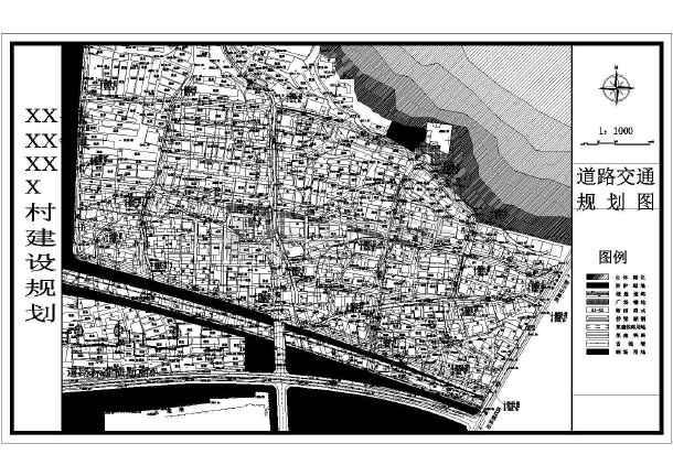 新农村别墅规划住宅区cad全套施工设计平面图