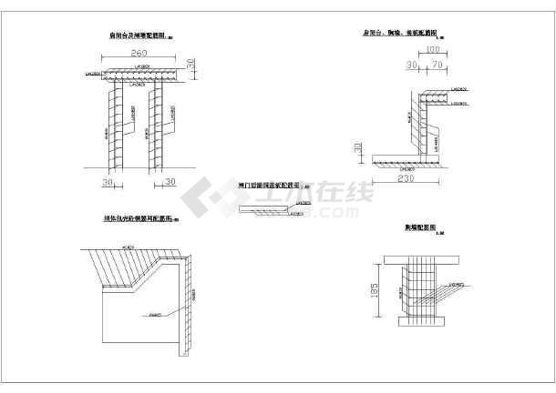 某小型拦河坝工程全套施工设计图纸