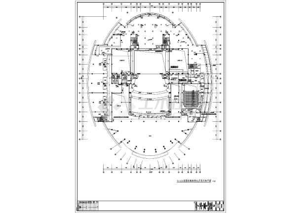 菏泽某四层体育馆建筑给排水方案图