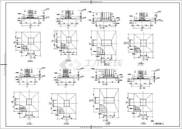 某地单层门式钢架结构厂房设计施工图