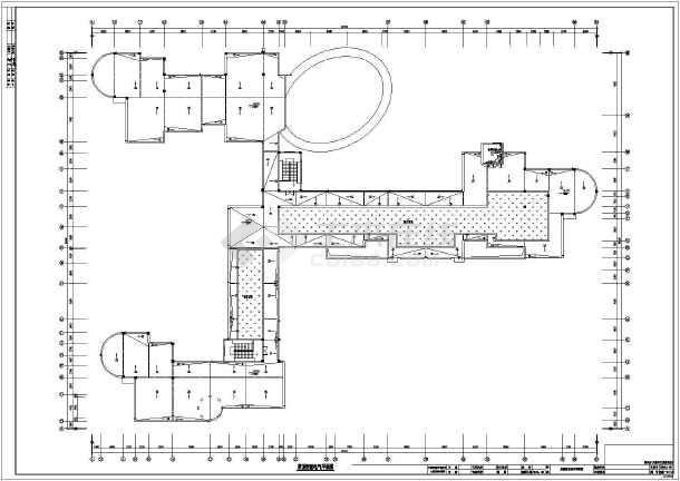 简介:浙江某幼儿园,三层,星型平面,图纸内容包括:电气总平面图,路灯