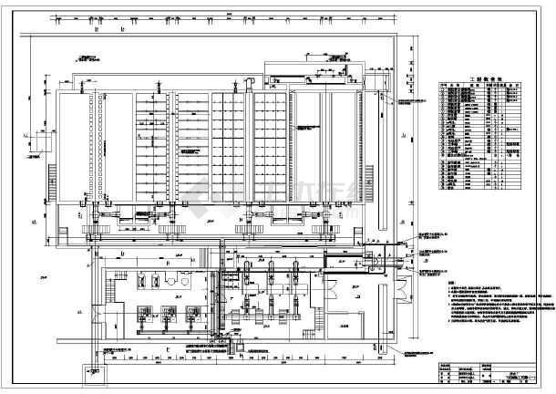 某水厂净水厂v型过滤池工程施工图
