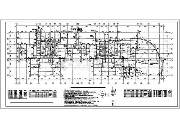 某市25层钢筋混凝土剪力墙结构住宅楼全套结构施工图