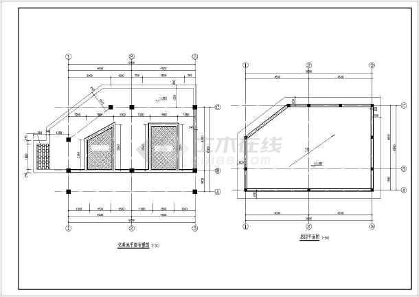 某地学校景观图纸建筑方案设计图纸_cad图纸i意思乡镇是什么旱厕l图片