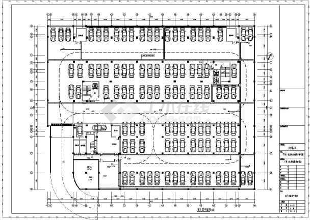 某地九层办公楼含地下车库电气施工图41张(含cad按esc返回图片