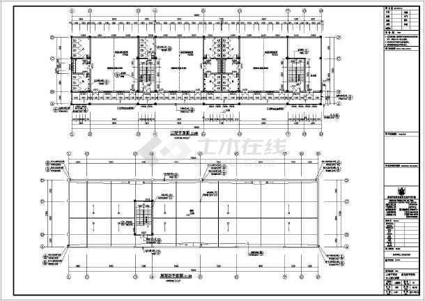 兴义市三层12班幼儿园建筑施工图_cad图纸下全汉atxpa250图纸图片