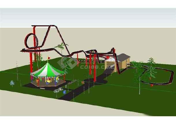 儿童游乐场平面设计图