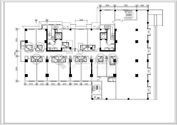 某市三层宾馆住宅给排水设计图纸