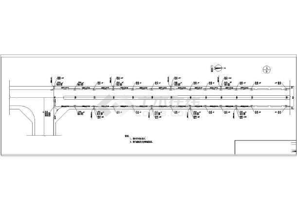 图纸路给排水v图纸施工图(含下载)_cad市政说明上海大型户外广告设计公司图片