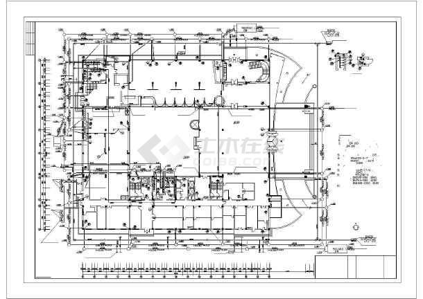 某十七层框架结构宾馆给排水消防设计图